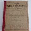 APRES : Restauration de manuels de géographie début XXème siècle