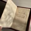 Traité sur la Tolérance de Voltaire : coffret cuir maroquin et chèvre velours