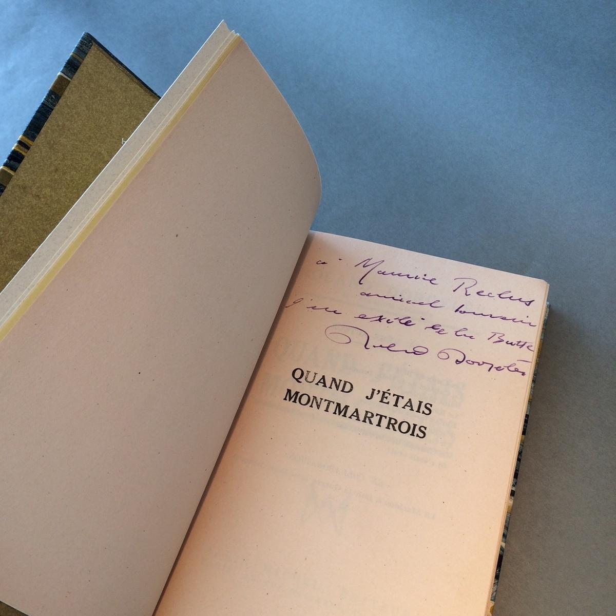 dédicace auteur Roland Dorgelès