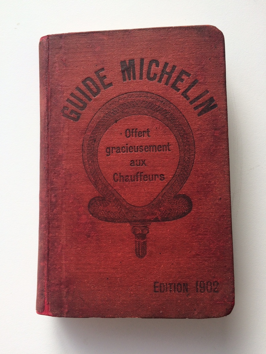 Guide michelin restauré