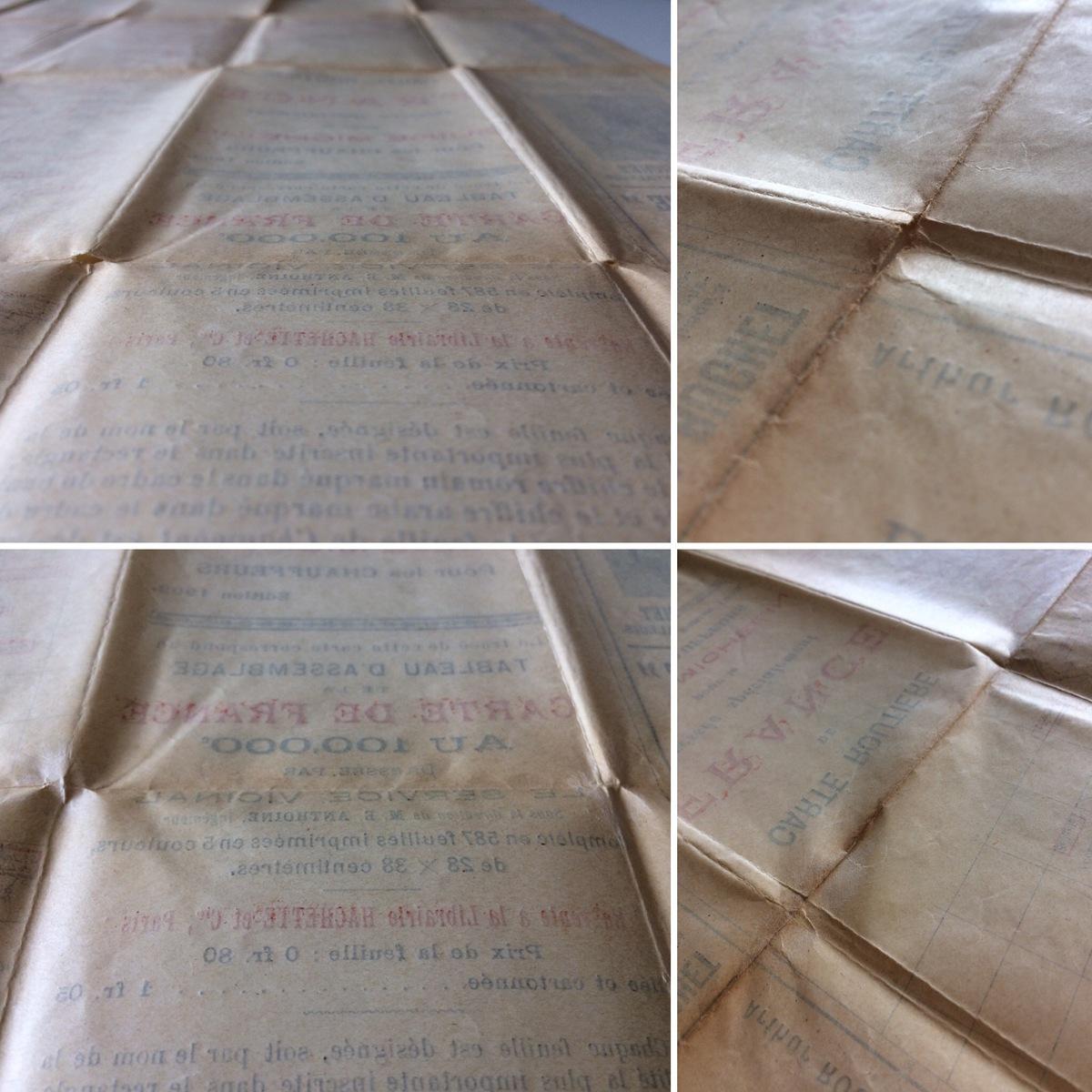 Restauration de livre ancien et de cartes anciennes