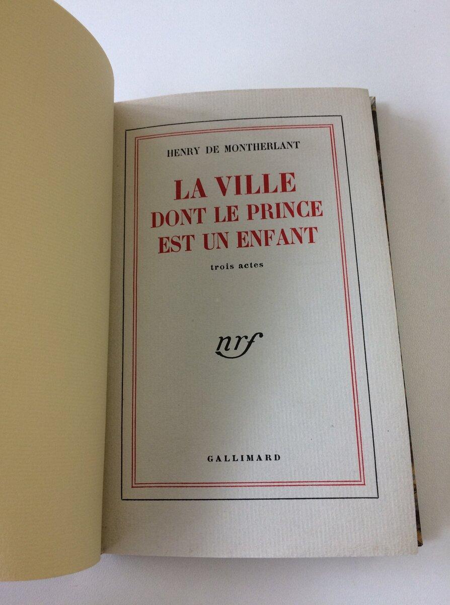 Livre éditions Gallimard