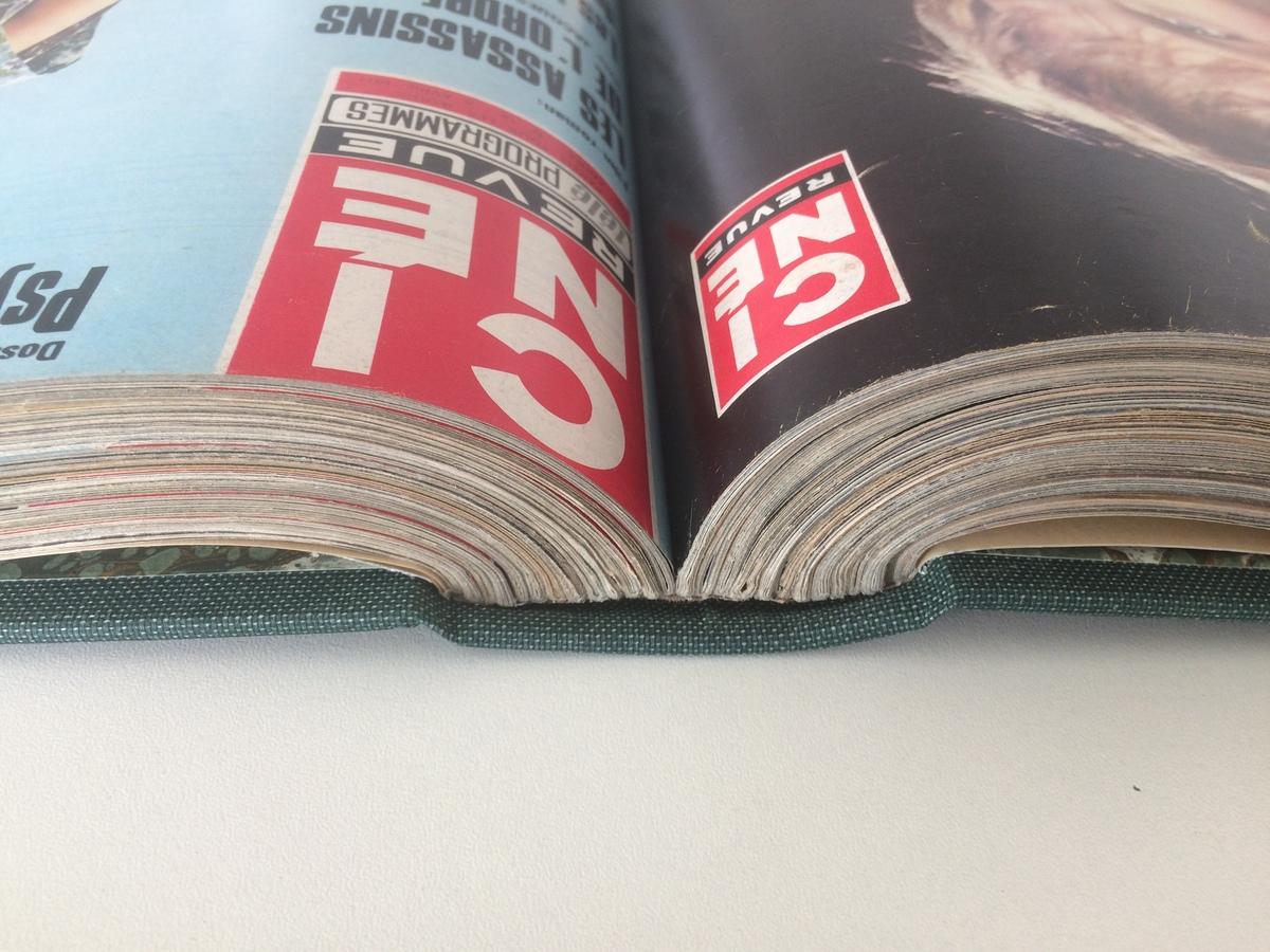 Reliure de magazines Cinema